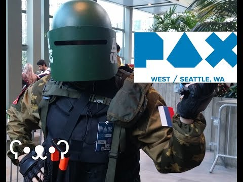PAX West 2018 (Cosplay, Games, Panels, Parties) - Bear IRL