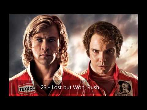 Soundtrack Rush. Hans Zimmer. 23.- Lost but Won