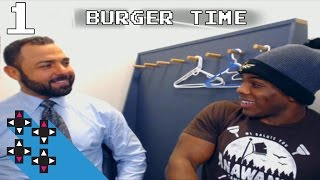 BATTLEARTS IS WHERE YOU TRAIN (BURGER TIME WITH SANTINO MARELLA PART 1) — Superstar Savepoint