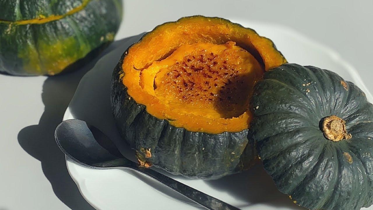 【とろける】まるごとカボチャのブリュレ | Pumpkin brulee