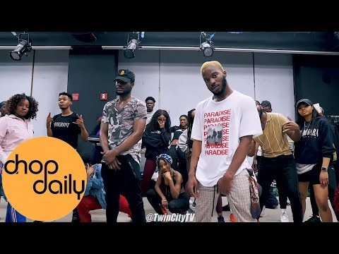 DJ Flex - Dance Africa (Dance Class Video)  | @dhatboyaj x @afro_mvmnt Choreography | Chop Daily
