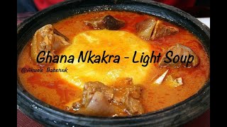 HOW TO PREPARE GHANAIAN LIGHT SOUP (APONKYE NKRAKRA) #