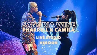 Camila Cabello & Pharrell Williams - Sangria Wine (Live Studio Version) *BBMAs*