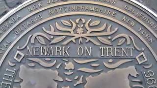 The Newarks Of The World 1995 Reunion Plaque Newark-On-Trent, Nottinghamshire