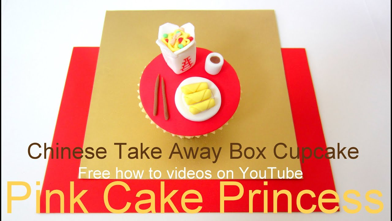 How To Make A Chinese Takeout Box Cake