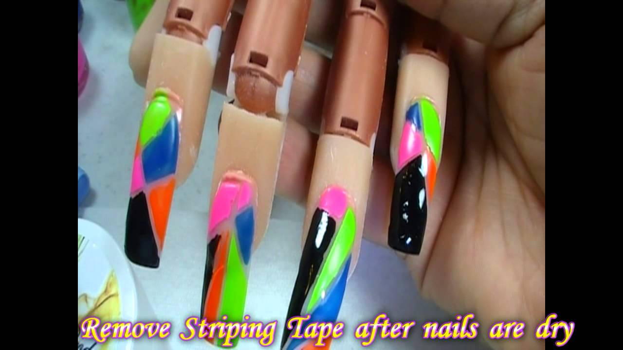 Crazy Nail Art 8 - Crazy Nail Art 8 - YouTube