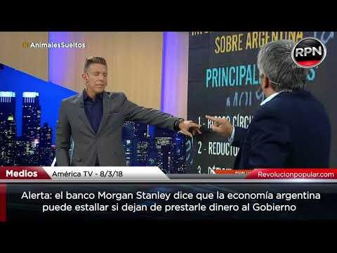 Alerta: un informe de Morgan Stanley anticipa un desastre económico en Argentina