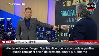 Alerta: un informe de Morgan Stanley anticipa un desastre económico en Argentina thumbnail