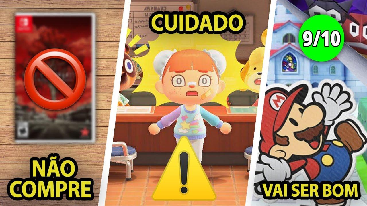 Não compre este lançamento no Switch ❘ Cuidado com Animal Crossing novo Update ❘ Donkey Kong e mais