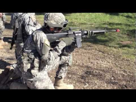 191st Army Band - Army Weapons Exercise