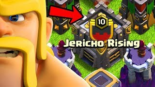 JERICHO RISING IS FINALLY LEVEL 10!  Clash of Clans