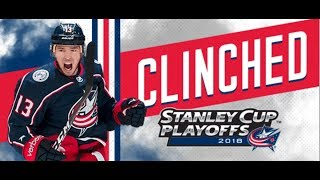Columbus Blue Jackets Stanley Cup Pump-Up
