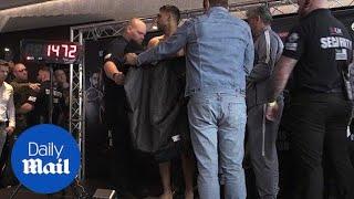 Amir Khan has NAKED weigh-in ahead of Samuel Vargas fight