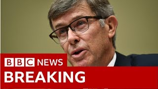 US acting Director of National Security Opening Statement - BBC News