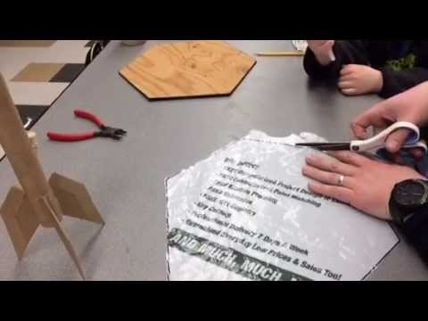 Making the Parachute