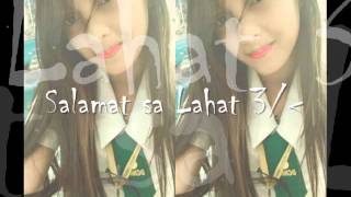 Repeat youtube video Salamat sa Lahat♥ (BY; Dj ' AiCERT)