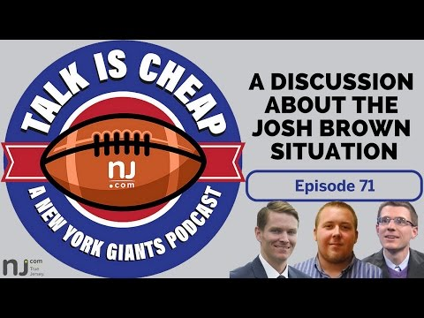 A discussion on Giants' handling of Josh Brown situation