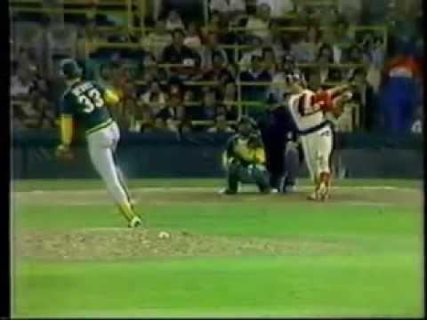 Carlton Fisk and Comiskey Park (https://www.facebook.com/baseballhistoryshorts/)