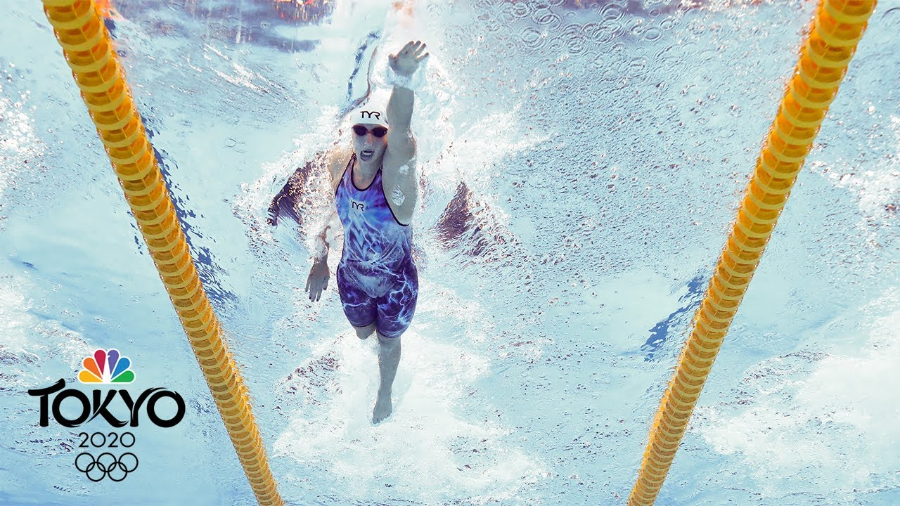 Tokyo Olympics: Katie Ledecky has fastest qualifying time in ...