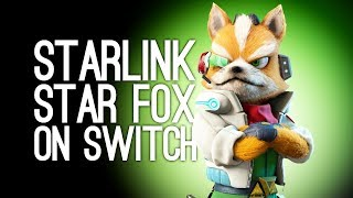 Starlink Battle for Atlas Nintendo Switch Gameplay: OMG IT'S THE WHOLE CREW - Star Fox in Starlink!