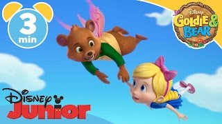 vuclip Goldie & Bear | Floating on Air | Disney Junior UK