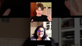 Womens History IG LIVE w Milan MARCH 2021