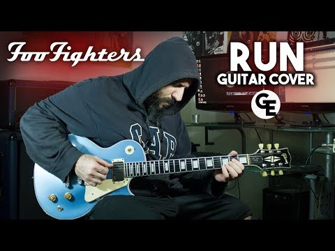 Foo Fighters - Run - Guitar Cover