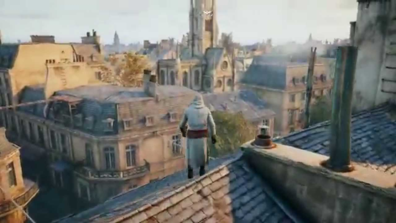 Assassin S Creed Unity Free Roam Pc Gameplay 60 Fps Youtube