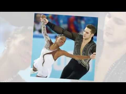 French Olympic Ice Skaters Venessa James and Morgan Cipres