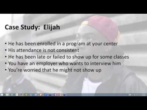 Youth Worker Certification Program WEBINAR 4 RECORDING