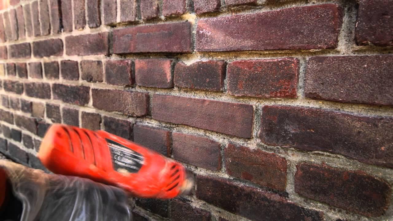 Stenen Muur Vernissen : Timelaps nieuwe bakstenen inboetwerk westhal enka terrein ede