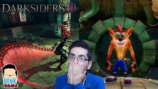 Darksiders 3: Protagonista, jugabilidad, etc. - Crash N'Sane Trilogy: Nuevo gameplay | QN