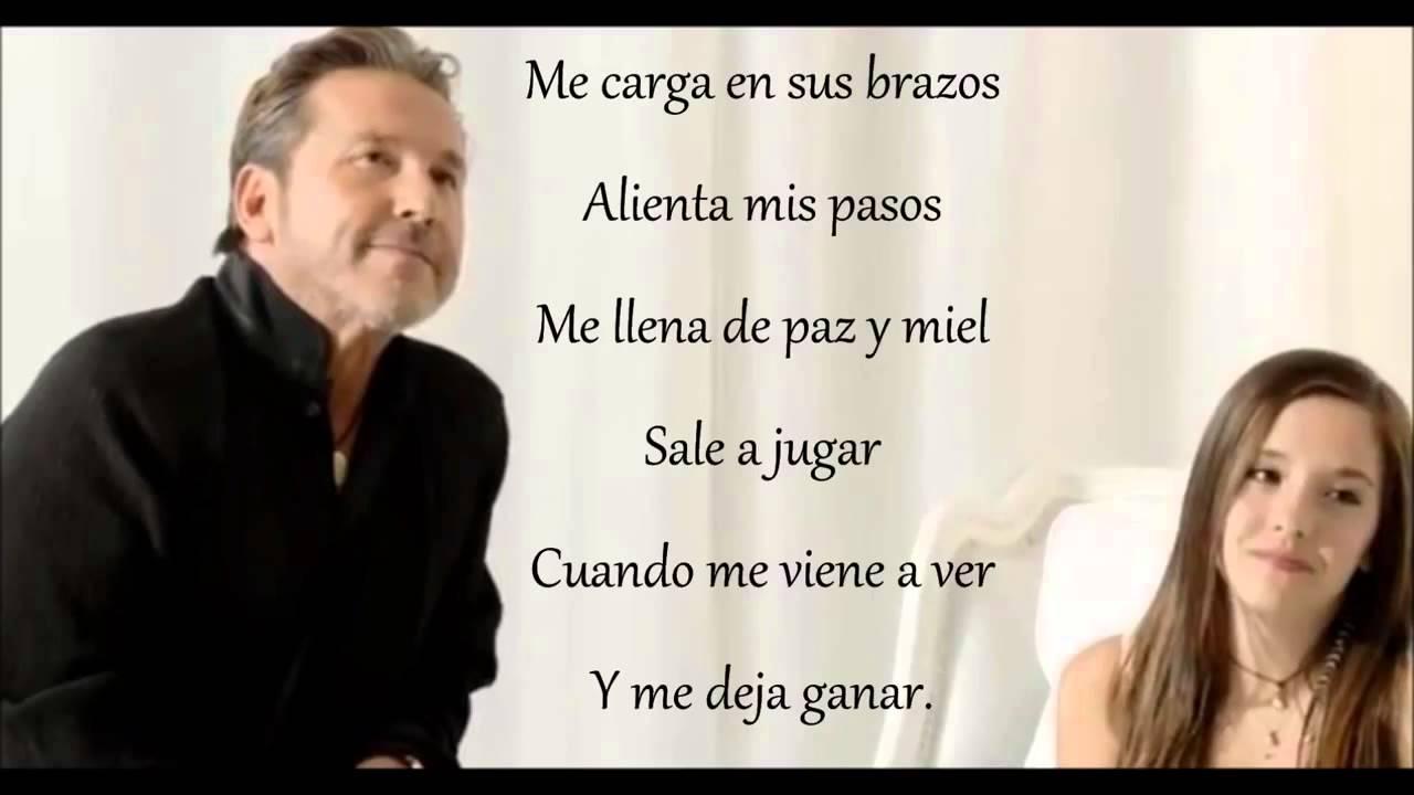 Ricardo Montaner Ft Evaluna Montaner La Gloria De Dios Letra Chords Chordify