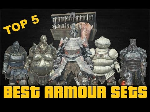 Dark Souls 3: TOP 5 BEST ARMOUR IN THE GAME SHOWCASE (havel, Smough, Exile, Gundyr, Caterina)
