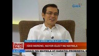 UB Panayam kay Isko Moreno, Mayor-elect, Manila