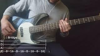 Marilyn Manson - Sweet Dreams Bass Cover (Tabs)