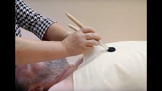 Массаж кисточками для расслабления - обучающий урок