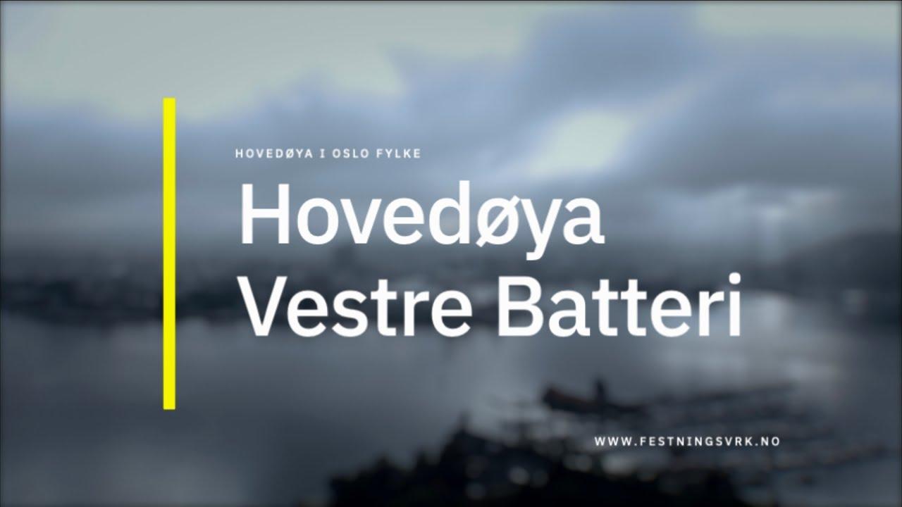 Hovedøya Vestre Batteri