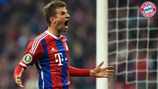 123. Minute: Thomas Müller erklärt sein irres Finaltor gegen den BVB | DFB-Pokal 2013/14