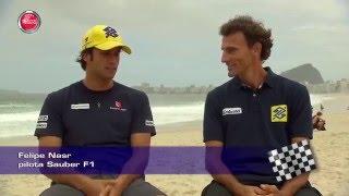 Un incontro speciale Felipe Nasr ed Emanuel Rego   Speciale F1 del 12-12-2015