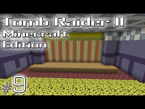 "Minecraft: Tomb Raider II Minecraft Edition odc. 9 - Living Quarters - ""Bezbronna"""