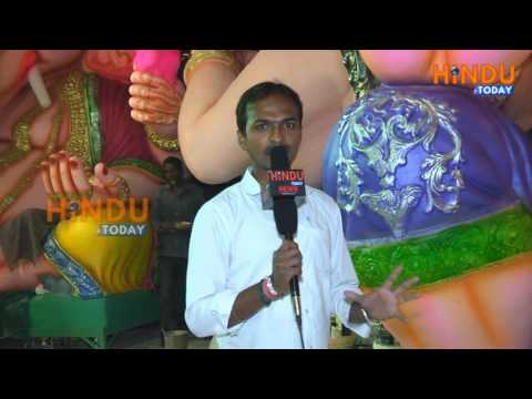 Hindu Today News Visit at Dhoolpet Laxminarayan Kalakar Hindu Today Taken Interview 2016