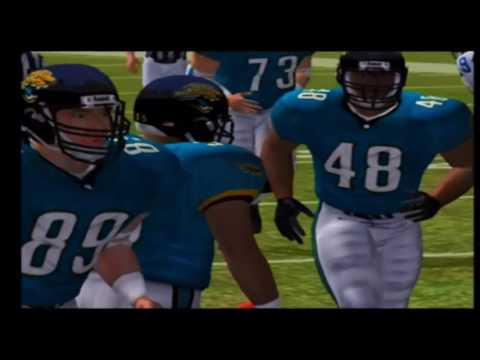 Madden NFL 2004 Colts vs Jaguars Part 1