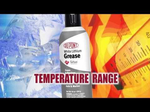 DuPont™ White Lithium Grease with Teflon® Fluoropolymer