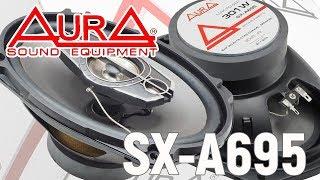 Обзор коаксиальных автомобильных динамиков Aura SX-A695