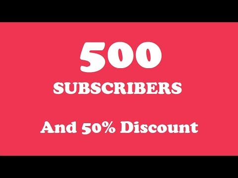 We Reached 500 YouTube Subscribers!