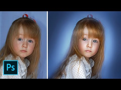 Photoshop CC 2017 Tutorial - How to Make Photo Look Like a Painting
