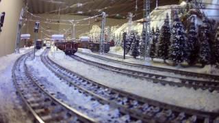 SBB, BLS, Schweizer Bundesbahnen, Bern-Lötschberg-Simplon: Märklin Eisenbahn Anlage