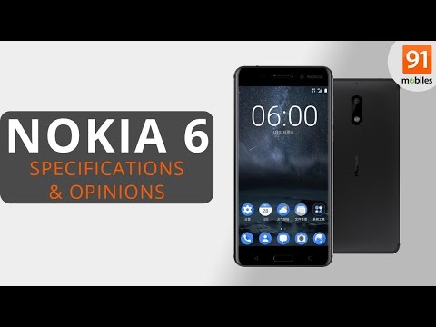 Nokia 6 Review of Specifications + Opinions!