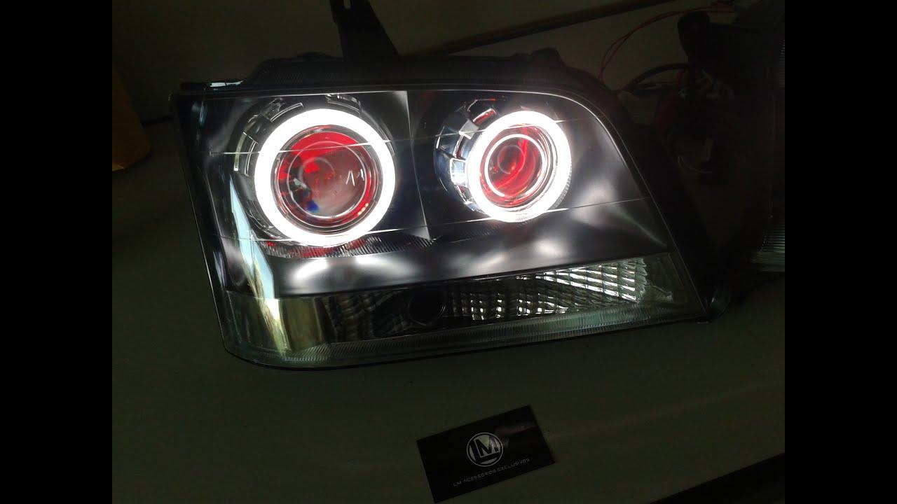 Retrofit projetor farol Headlight GM Chevrolet S10 LM ...